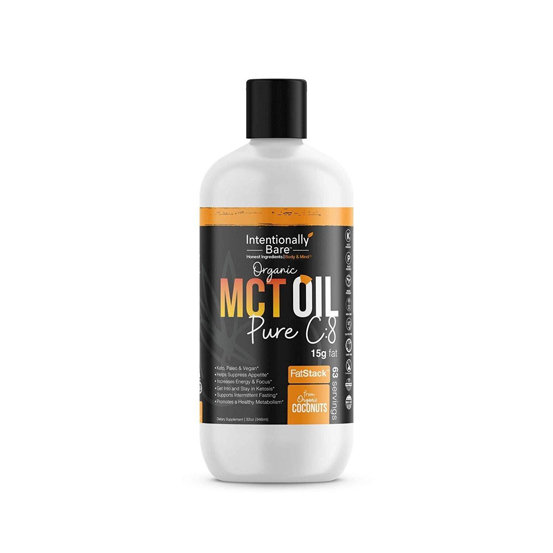 Pure C8 Organic MCT Oil