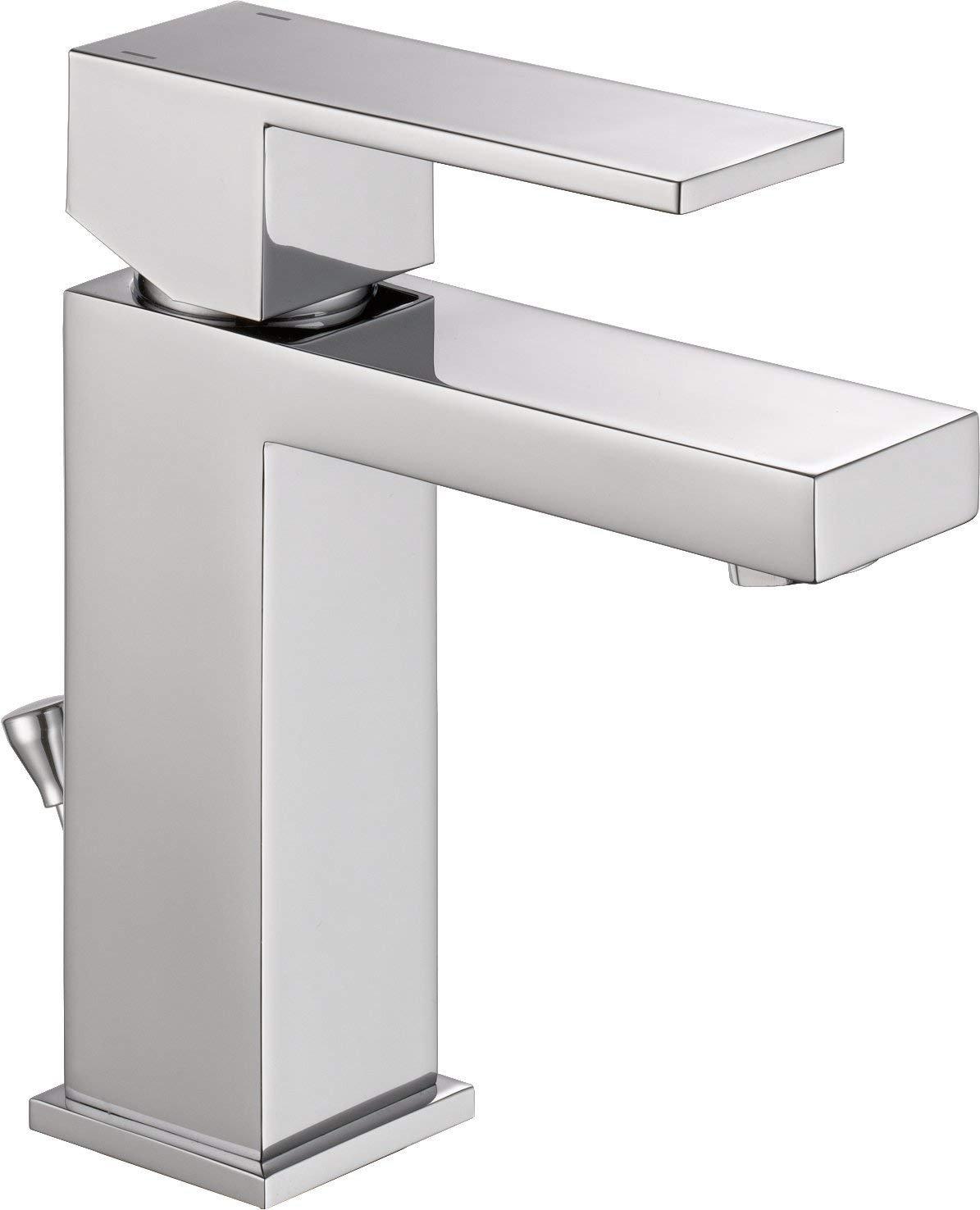 Delta Modern Single-Handle Bathroom Faucet