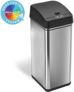iTouchless Stainless Steel Diaper Trash Can