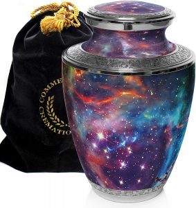 Cosmic Galaxy Universe Cremation Urns for Human Ashes​