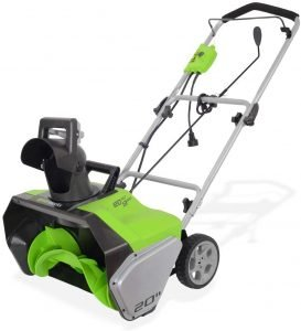 Greenworks Corded Snow Thrower 2600502​