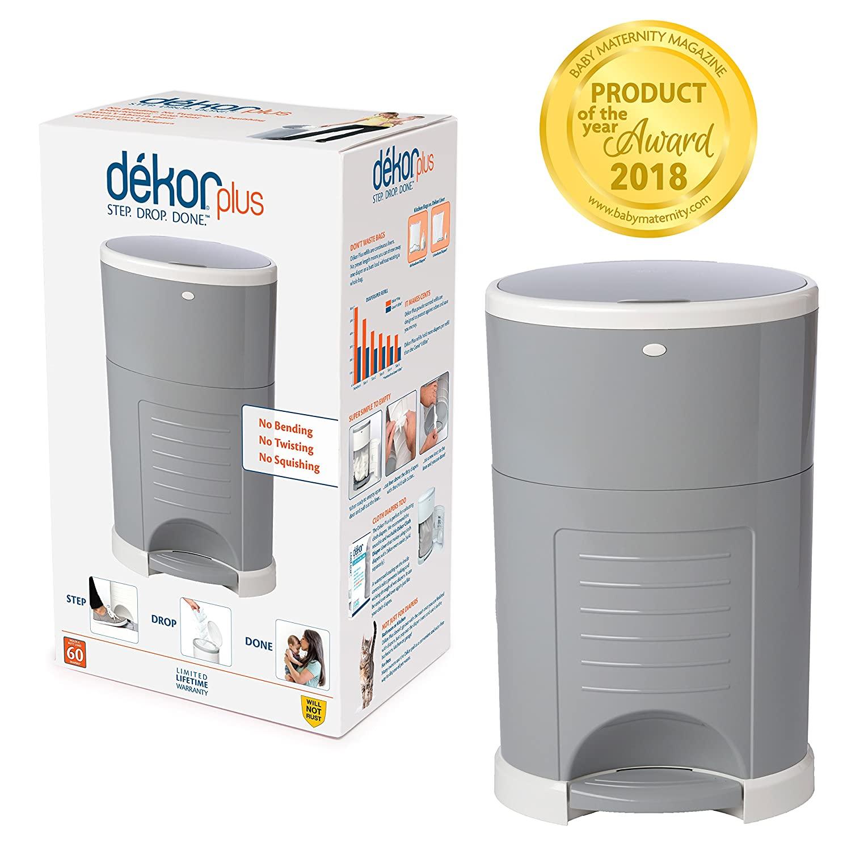 Dekor Plus Hands-Free Diaper Pail