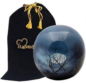 MEMORIALS 4U Midnight Moon Sphere of Life Cremation Urn​