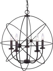 Canarm ICH282B05ORB25 Sumerside Light Chandelier