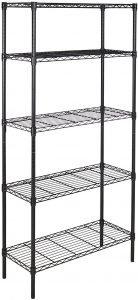 AmazonBasics 5-Shelf Heavy Duty Storage Shelving Unit