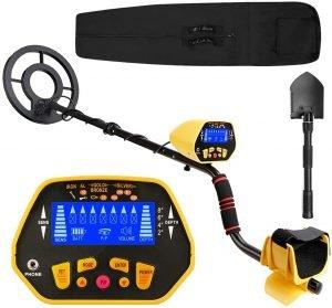 Canway Metal Detector High Accuracy Adjustable Waterproof Metal Finder