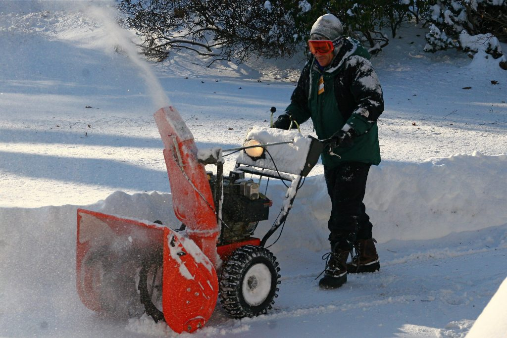 Battery Powered Single-stage Snow Blower