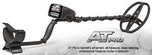 Garrett AT Pro All Terrain Land and Water Metal Detector