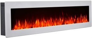GMHome 50 Inches Wall Mounted Electric Fireplace