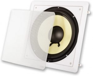 Acoustic Audio by Goldwood Acoustic HDS10 in Wall Passive Subwoofer
