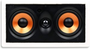 Micca M-CS Dual 5.25 Inch In-Wall Speaker with Woofer