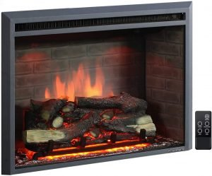 uraFlame 33 Inches Western Electric Fireplace