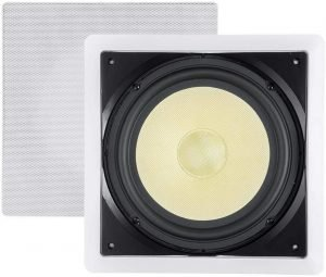 Monoprice Fiber In-Wall Speaker with 300W Subwoofer