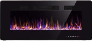 """Xbeauty 42"""" Electric Fireplace in-Wall Recessed Fireplace"""