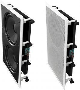 OSD Audio 350W In-Wall Home Theater Subwoofer
