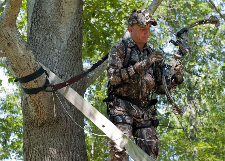 How to Put on A Tree Stand Harness